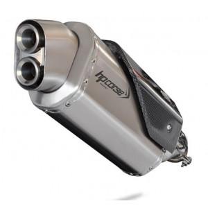 Τελικό εξάτμισης HP Corse 4-Track R KTM 790 Adventure/R ανοξείδωτο ατσάλι (κοντό)
