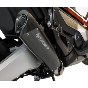 Τελικό εξάτμισης HP Corse EVOXTREME Honda X-ADV ανοξείδωτο ατσάλι μαύρο-carbon