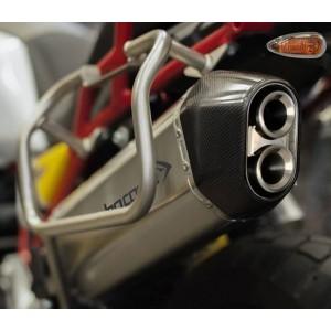 Τελικό εξάτμισης HP Corse SPS Moto Guzzi V85 TT τιτάνιο-carbon
