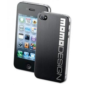 Κάλυμμα πλάτης Momo Design για iPhone4 ατσάλινο