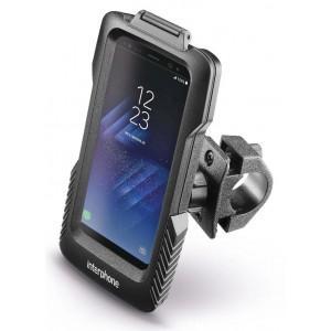 Αδιάβροχη θήκη Samsung Galaxy S8 Plus/S7 Edge με βάση τιμονιού Interphone