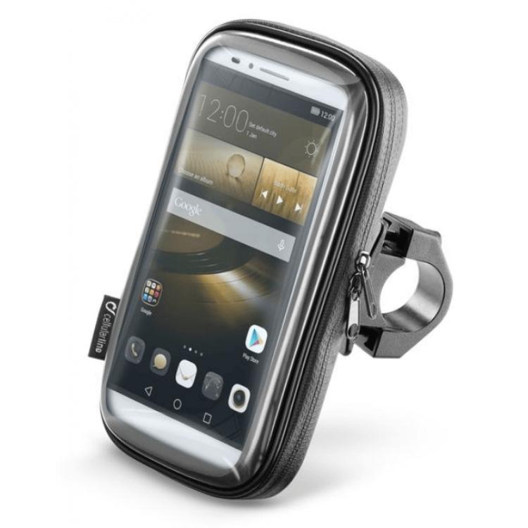 Αδιάβροχη θήκη Smartphone 6.5'' με βάση τιμονιού Interphone