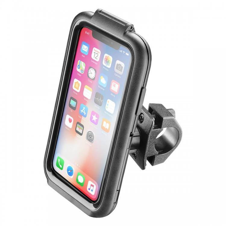 Αδιάβροχη θήκη iPhone X/XS με βάση τιμονιού Interphone