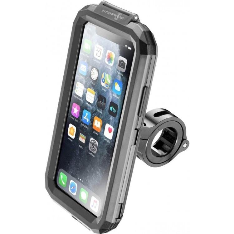 Βάση κινητού iPhone 11 PRO/X/XS Interphone για μπαράκια/τιμόνια (12 εώς 30mm)