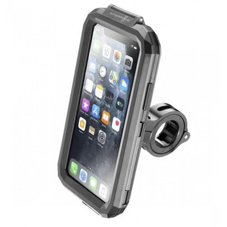 Βάση κινητού iPhone 11 PRO MAX/XS MAX Interphone για μπαράκια/τιμόνια (12 εώς 30mm)