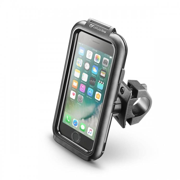 Βάση κινητού iPhone 6/6S/7/8/SE Interphone για μπαράκια/τιμόνια (16 εώς 30mm)