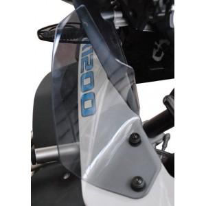 Πλαϊνά βοηθήματα αέρα Isotta BMW R 1200 GS Adv. LC 14- φιμέ