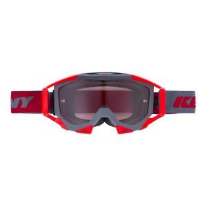 Μάσκα Enduro / MX Kenny Titanium κόκκινο γκρι ματ