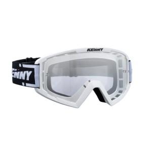 Μάσκα Enduro / MX Kenny Track λευκή