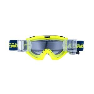 Μάσκα Enduro / MX Kenny Track Max neon κίτρινο μπλε