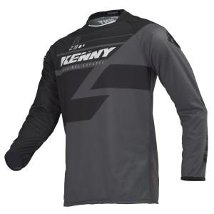Μπλούζα Motocross Kenny Track μαύρο-γκρι