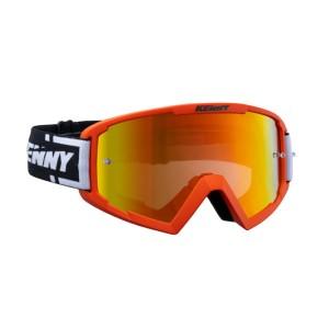 Μάσκα Enduro / MX Kenny Track+ πορτοκαλί