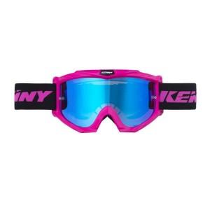 Μάσκα Enduro / MX Kenny Track+ παιδική neon ροζ