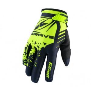 Γάντια Kenny Brave Enduro / MX κίτρινα