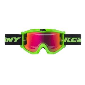 Μάσκα Enduro / MX Kenny Track+ νέον πράσινη