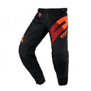 Παντελόνι Motocross Kenny Titanium μαύρο πορτοκαλί