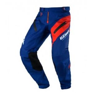 Παντελόνι Motocross Kenny Titanium μπλε κόκκινο