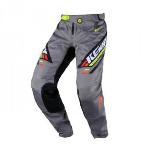 Παντελόνι Motocross Kenny Track μαύρο γκρι πορτοκαλί