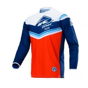 Μπλούζα Motocross Kenny Track  κόκκινο άσπρο μπλε