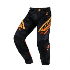 Παντελόνι Motocross Kenny Track μαύρο πορτοκαλί