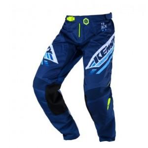 Παντελόνι Motocross Kenny Track μαύρο μπλε λευκό