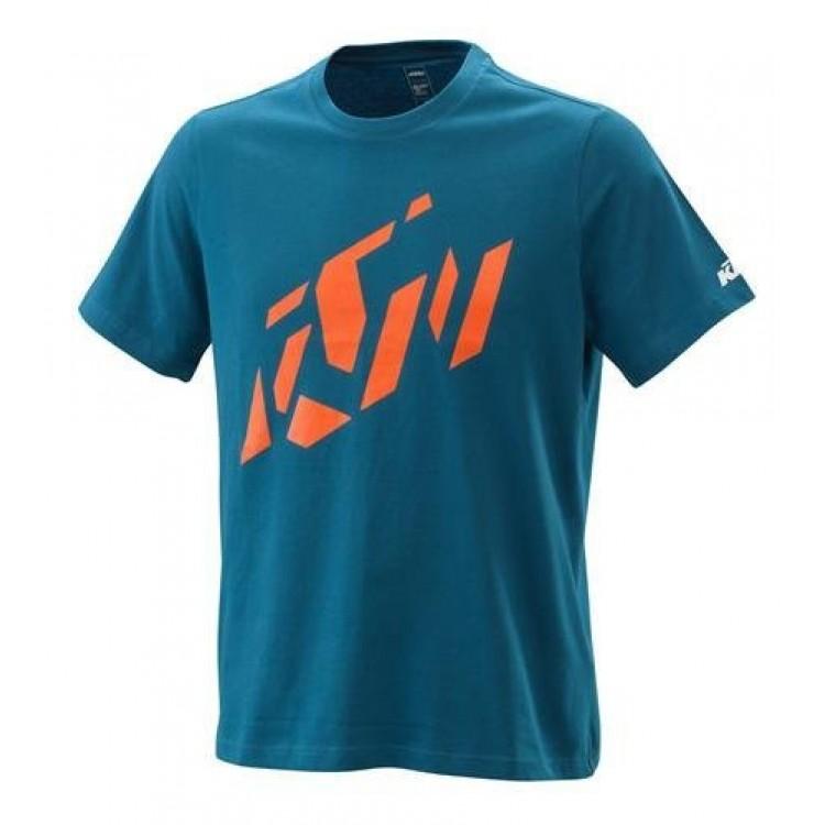 T-shirt KTM Radical logo 2021 μπλε