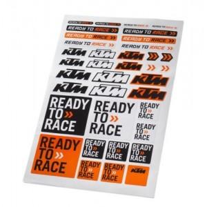 Καρτέλα Αυτοκόλλητα KTM