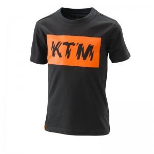 T-shirt KTM Radical logo 2020 παιδικό μαύρο
