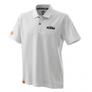 Polo KTM Racing λευκό