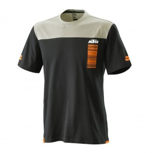 T-shirt KTM Pure Style μαύρη γκρι 2020