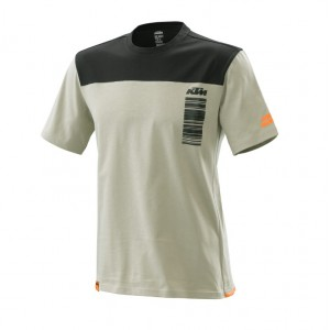 T-shirt KTM Pure Style γκρι μαύρη 2020