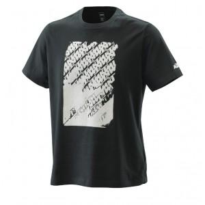 T-shirt KTM Radical logo μαύρο