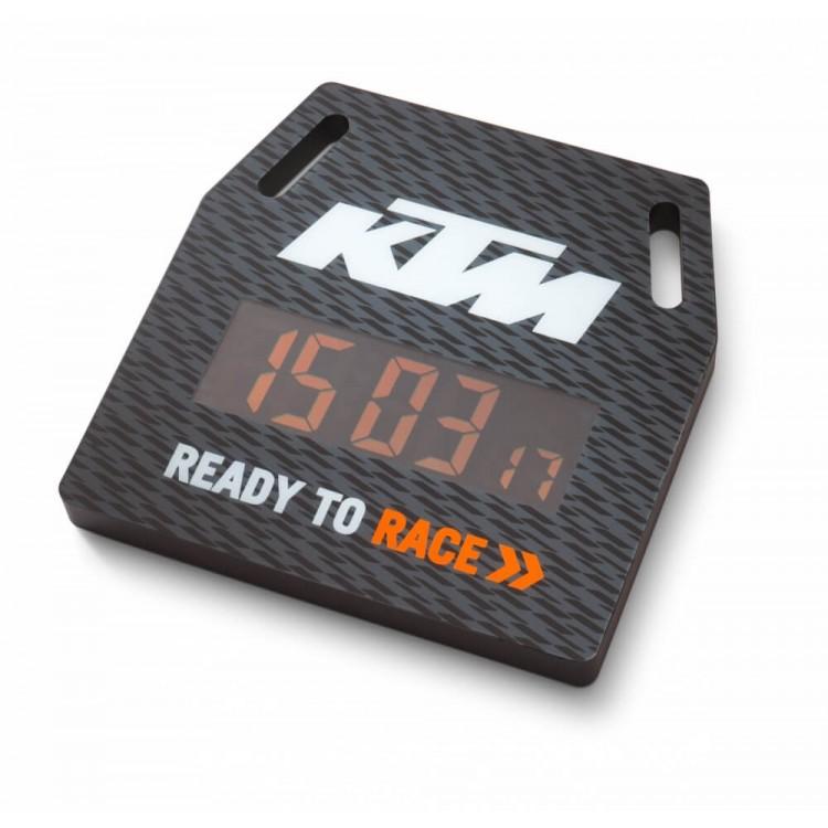 Ψηφιακό ρολόι τοίχου KTM μαύρο