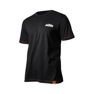 T-shirt KTM Racing μαύρο