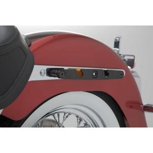 Βάση πλαϊνού σαμαριού SLH Harley Davidson Softail Deluxe 17- αριστερή