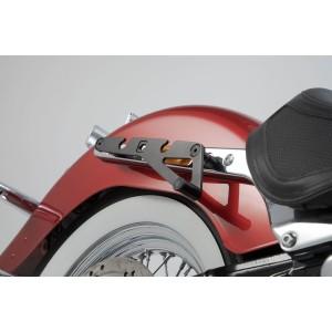 Βάση πλαϊνού σαμαριού SLH Harley Davidson Softail Deluxe 17- δεξιά