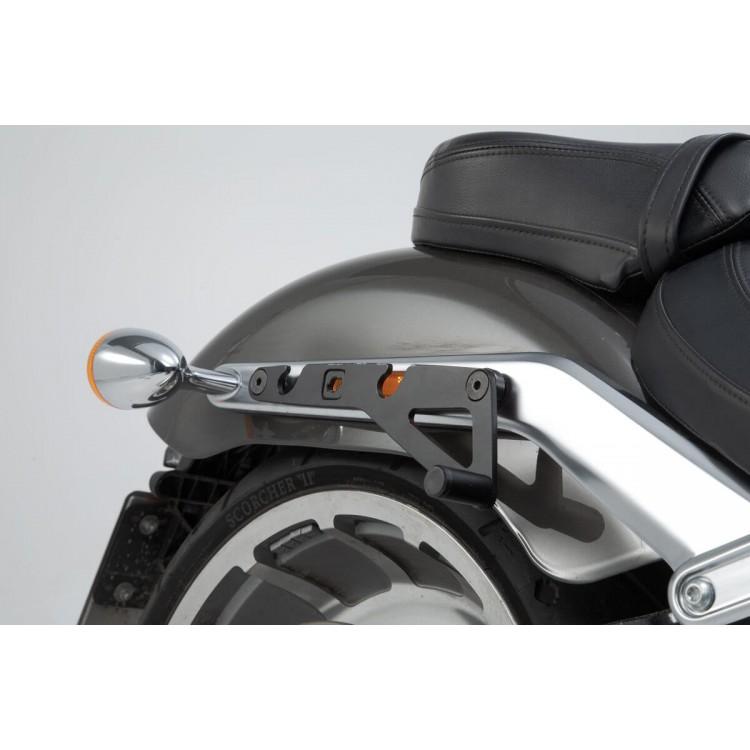 Βάση πλαϊνού σαμαριού SLH Harley Davidson Softail Fat Boy/S 17- δεξιά