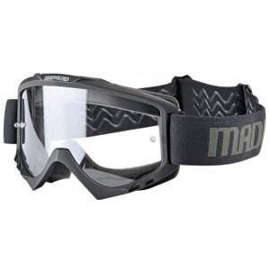Μάσκα Enduro Madhead S8 Pro μαύρη - διάφανη ζελατίνα