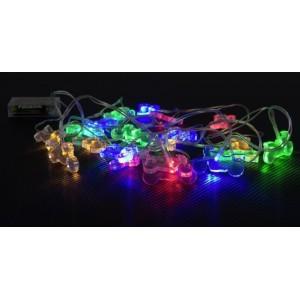 Πολύχρωμα φωτάκια LED σε σχήμα μοτοσυκλέτας