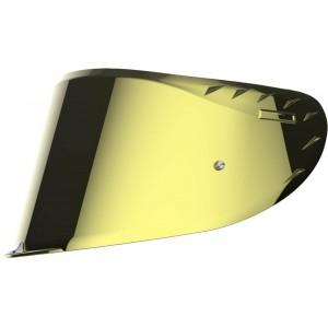 Ζελατίνα κράνους LS2 Challenger FF327 καθρέπτης χρυσό