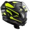 Κράνος LS2 Valiant II FF900 Revo μαύρο neon κίτρινο ματ