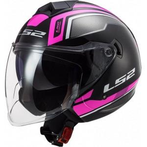 LS2 Twister II OF573 Flix μαύρο ροζ