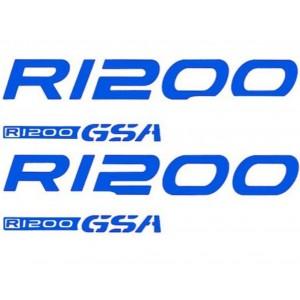 Σετ αυτοκόλλητα BMW R 1200 GS Adv. -13 μπλε