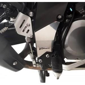 Καλύμματα κενού πλαισίου Suzuki DL 650 V-Strom -11 ασημί