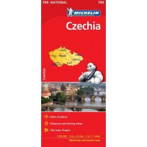 Χάρτης Τσεχίας Michelin road map