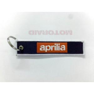 Μπρελόκ με λογότυπο APRILIA μαύρο - κόκκινο