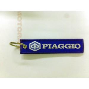 Μπρελόκ με λογότυπο Piaggio μπλε - λευκό