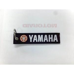 Μπρελόκ με λογότυπο Yamaha μαύρο - λευκό