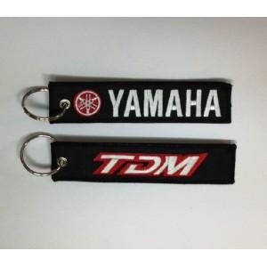 Μπρελόκ με λογότυπο Yamaha TDM μαύρο - κόκκινο