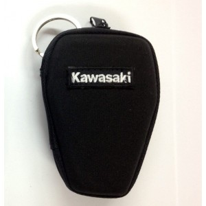 Θήκη κλειδιών σκληρή με κρίκο Kawasaki